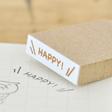 HAPPY! デコレーションスタンプ