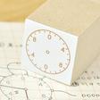 アナログ時計スタンプ:24時間:Mサイズ:ゴシック・サンセリフ